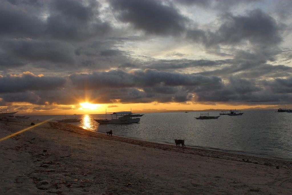 マラパスクア島からの帰り
