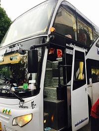 バンコクからチェンマイへバス移動