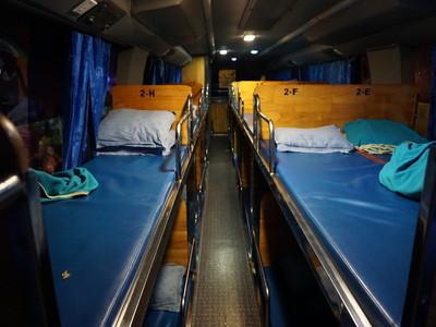 【夜行バス】ホテルバスでシェムリアップからプノンペンまで移動