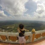 【クラビ】バイクでタイガーテンプルに行く方法と一緒に行きたい山の上の寺院