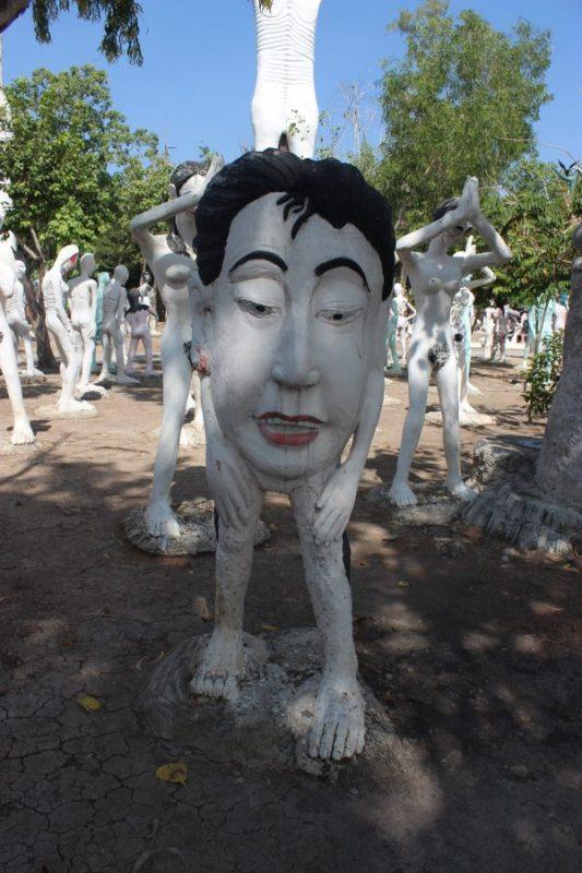 【バンコク】地獄寺へ公共バスで格安に行く方法