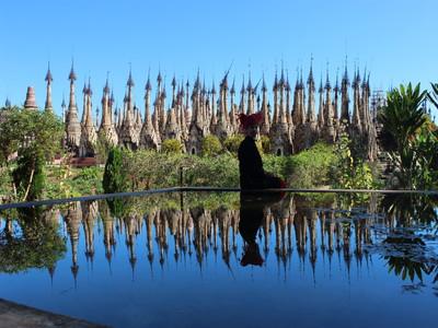 【パゴダの多さに驚愕】インレーの奥地、カックー遺跡に行く方法
