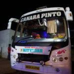 ハンピからムンバイまで夜行バスで移動した時間と金額と注意点