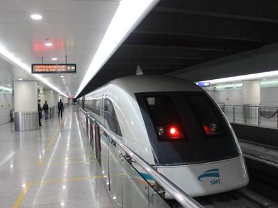 【リニア】上海の浦東国際空港から8分間の300キロの世界