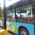 【セブ島】マクタン空港からSMモール行きのバスに乗って格安に市内まで25ペソで行く方法