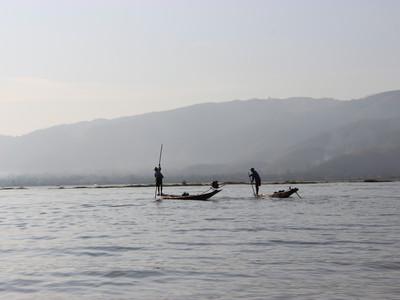 【ミャンマー】船をチャーターしてインレー湖観光をしてみる