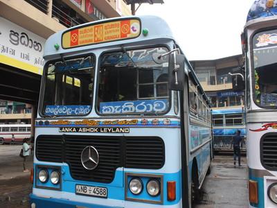 ネゴンボからダンブッラまでバスで行く方法