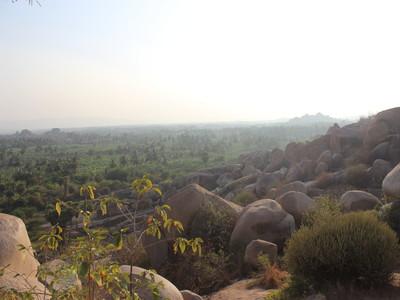 【超おすすめ】インドのハンピという石だらけの絶景の街