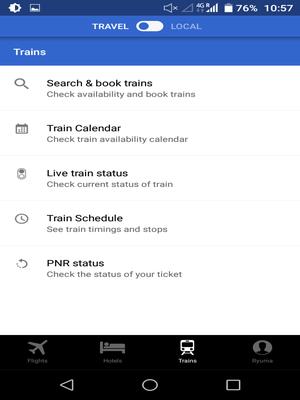 【インド鉄道予約】Cleartripで簡単お得に鉄道列車を自分で予約しよう