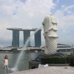 乗り換えのために1日シンガポールに滞在できるので、主要な観光地を回ってみた