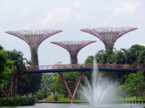 グーグルマップで共有!シンガポールの観光名所のマップ