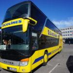 【バス移動】タリンからリガまでエコラインズで移動する