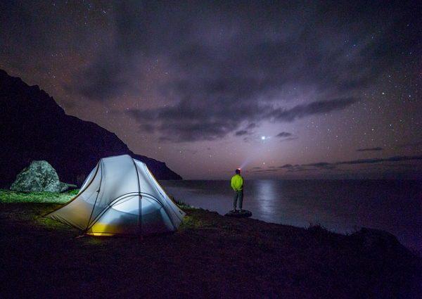 アイスランドのキャンプ場で無料コーナーにあるもの