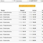 【時刻表】アテネからメテオラまでの列車での行き方