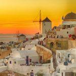 サントリーニ島のお勧め夕陽スポット