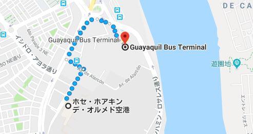 【バス・飛行機】グアヤキルからピウラ・リマ経由でイキトスへ